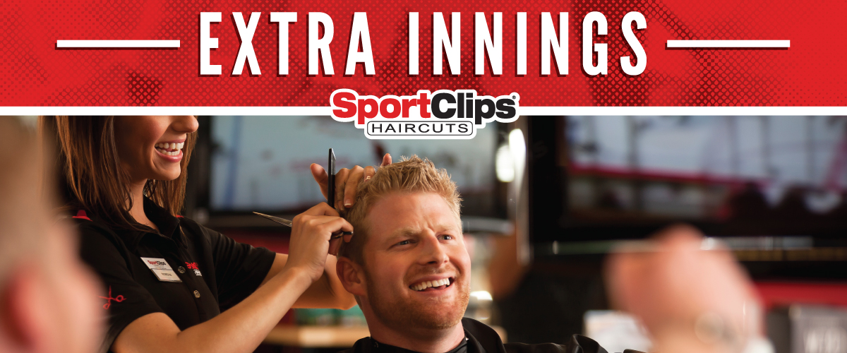 The Sport Clips Haircuts of N. Wheaton (Carol Stream) Extra Innings Offerings